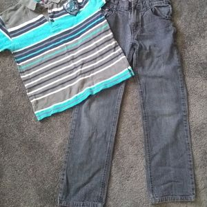 Mecca jeans and shirt